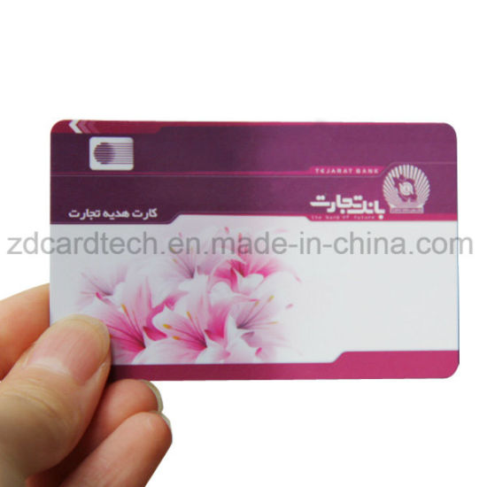 Cr80 Printable PVC 14443A 13.56MHz MIFARE 1K Smart RFID Card pictures & photos