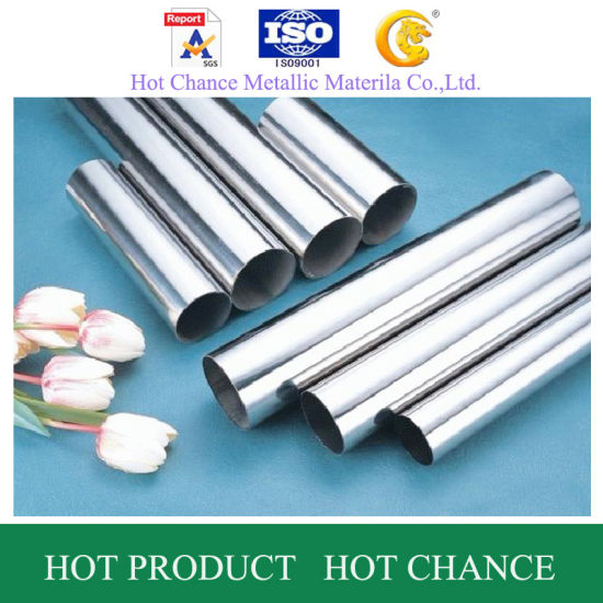 201, 304, 316 Welded Stainless Steel Pipe pictures & photos