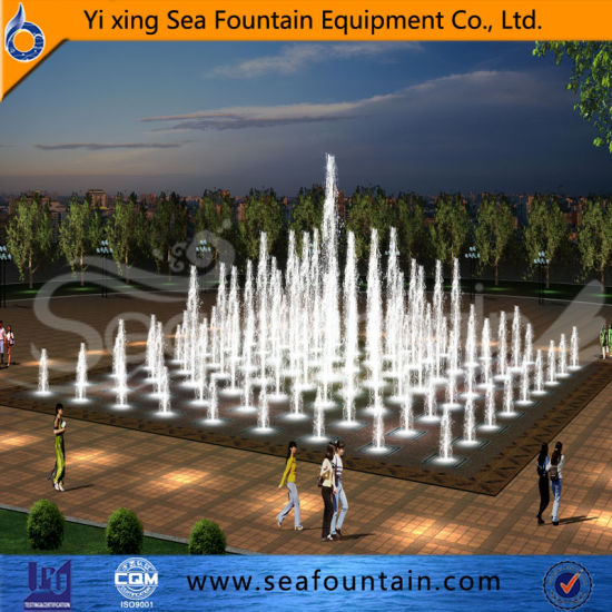 Stainless Colorful Outdoor Floor Fountain pictures & photos