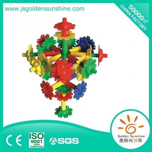Children′s Toy Plastic Block in Domino Design with CE/ISO Certificate pictures & photos