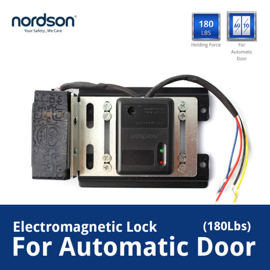 China DC12V Zinc Alloy Automatic Door Magnetic Lock for