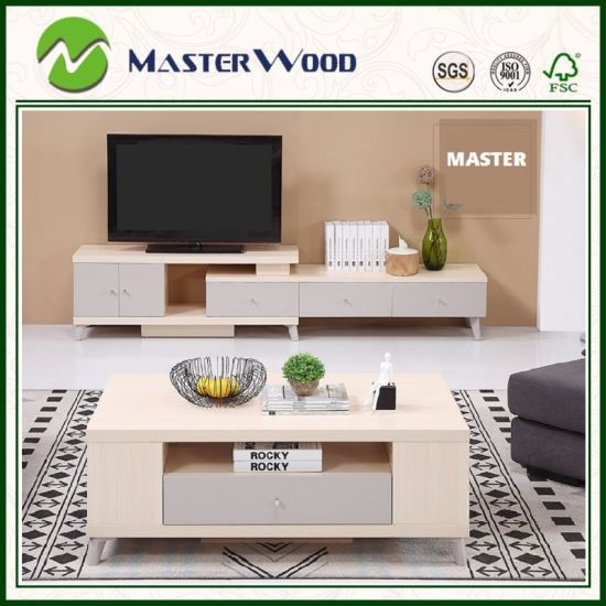 North Europe/Modern/French Style Melamine/PVC/UV/Acrilic MDF/Partileboard/Plywood Board TV Stand for Living Room /Home/Bedroom/Hotel Furniture Set Cabinets
