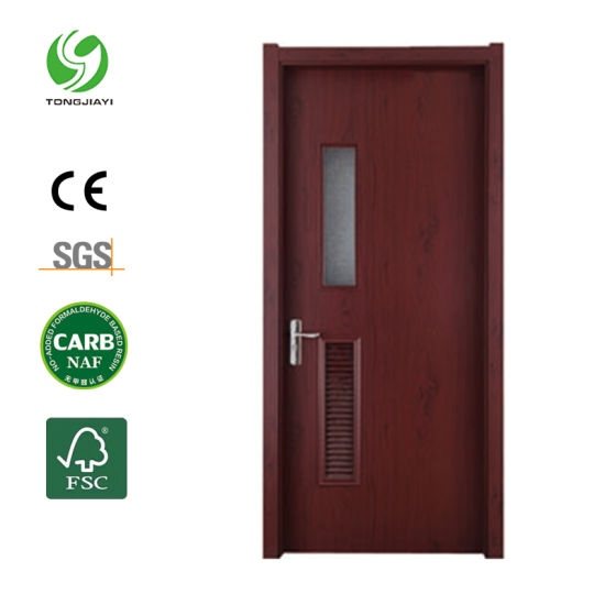 Waterproof Fire-Resistant WPC Door Frames with PVC Architrave