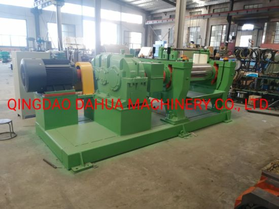 Two Rollers Rubber Open Mixing Mill