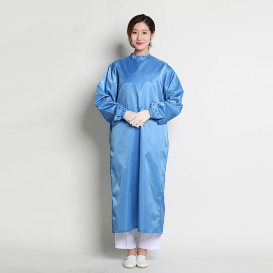 AAMI Level 1 Waterproof Reinforced Disposable Non-Sterile Pet+PA Surgical Gown