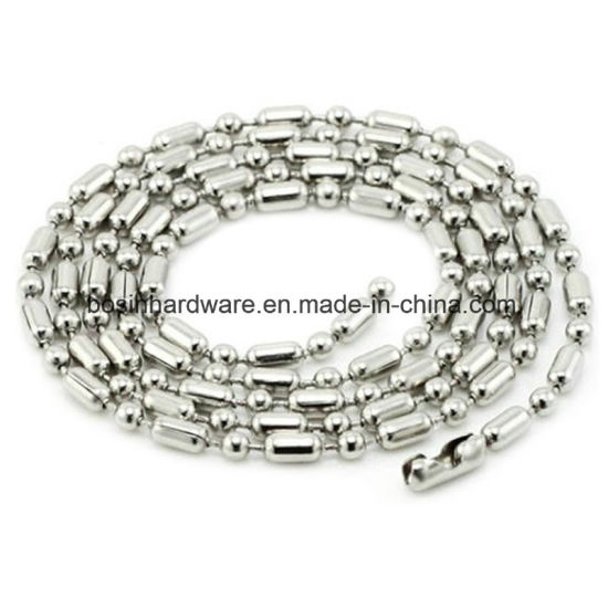 76cm Cut Metal Ball Chain Necklace pictures & photos