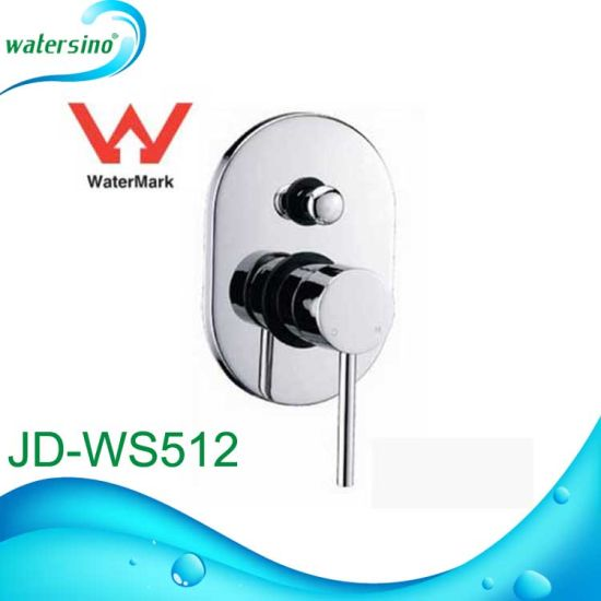 Jd-Ws510 Single Handle Diverter Faucet Concealed Shower Mixer with Diverter pictures & photos