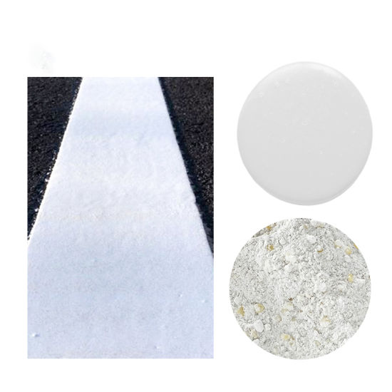 Wholesale Cheap Price Traffic Road Marking Reflective Safety Warning Sign Thermoplastic Powder Yellow and White Paint