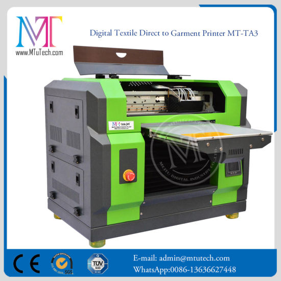 T-Shirt Printer Textile Inkjet Printer DTG Inkjet Printer with Dx5 Print Head