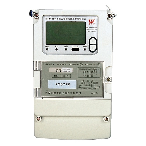 Multi Tariff Three Phase Smart Electronic Kwh Meter for AMR System pictures & photos
