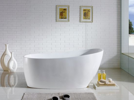 1730mm Slipper Morden Freestanding Acrylic Bathtub pictures & photos