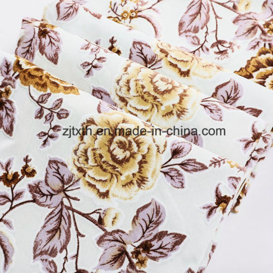 China 2018 Knitted Fabric And Print Velboa Fabric China Knit