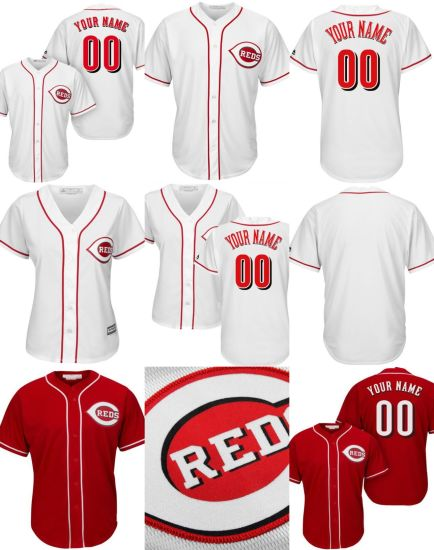 59a621bacb4 China Customized Men Women Kids Cincinnati Reds Cool Base Baseball ...