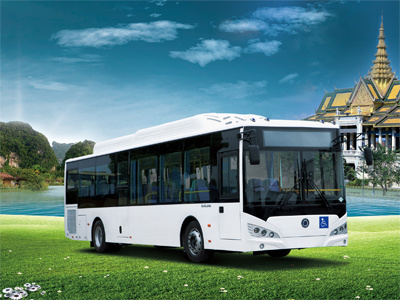 Sunlong Slk6119au6n Natural Gas City Bus pictures & photos