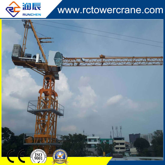 Ce ISO Superior 4015 5ton 40m Boom Stationary/ Self-Erecting/Slewing/ Luffing Tower Crane for Construction Site
