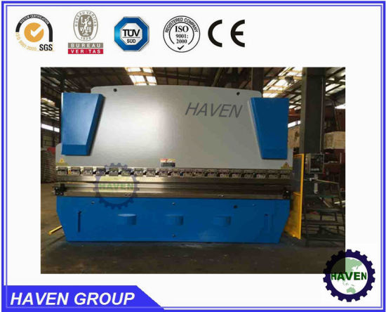 WE67K-160X4000 CNC Electric Hydraulic Synchronization Hydraulic Press Brake pictures & photos