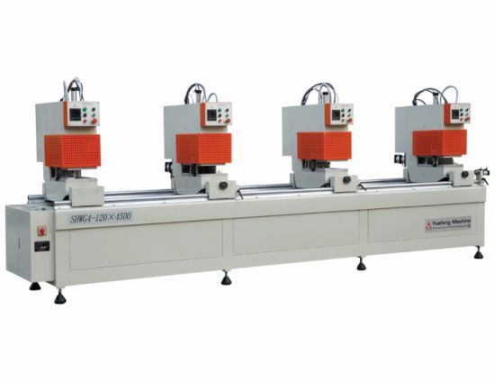 UPVC PVC Window Seamless Welding Machine with Double Side Cutter