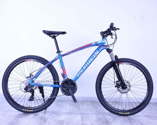 26'' Aluminum Alloy Suspension Disc Brakes 24 Speed Mountain Bike