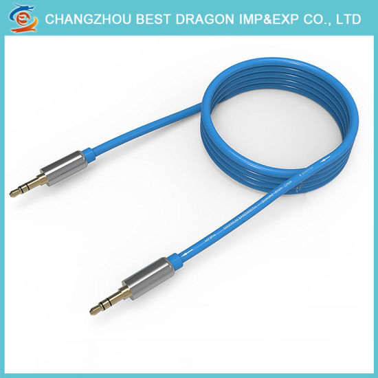 wholesale dealer 898a0 fcaa1 Promotional Aux Cable for iPhone 7 Stereo Audio Cable 3.5mm Metal Plug