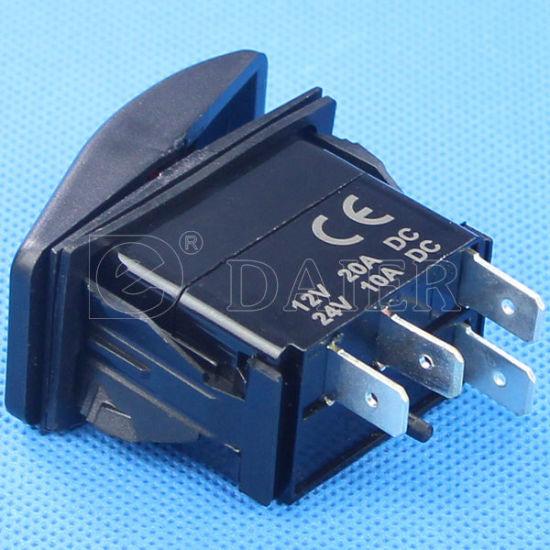 Carling Technologies Marine Rocker Switch with Light