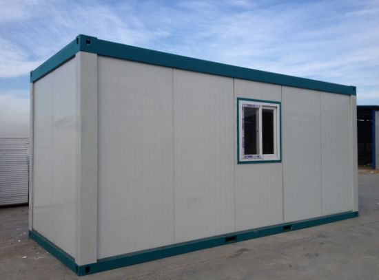 Prefabricated 20FT Container Homes China Supplier with House Plan (LDCH002) pictures & photos