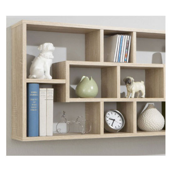 office book shelf bookcase wall wood case storage unit cd dvd home office book shelf display china