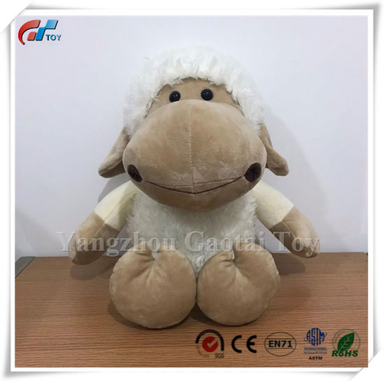 Cream Color Soft Sheep Plush Lamb Toy Baby Toys for Kids
