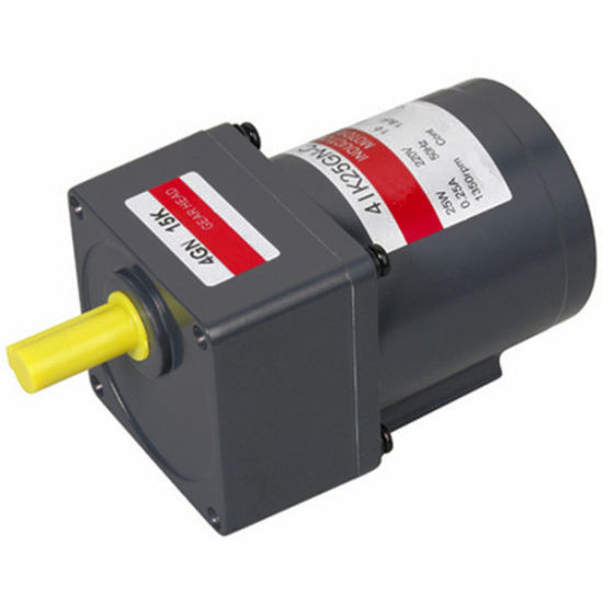 Gs Small Electric 25w Single Phase Reversible Ac Motor For Pump Pictures Photos