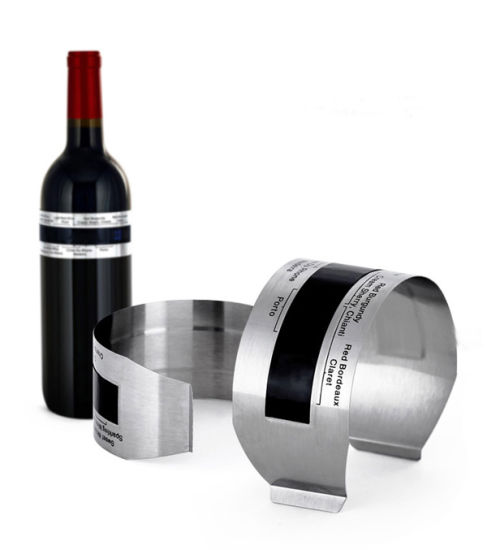 Stainless Steel Wine LCD Thermometer for Bottle pictures & photos