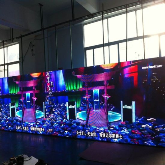 HD P4 Indoor Full Color LED Display Panel for Meeting Room pictures & photos