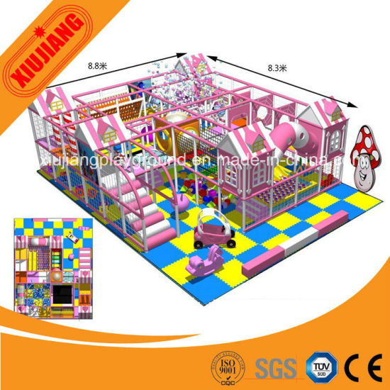 CE Approved Top Sale Kids Indoor Soft Play Game Set