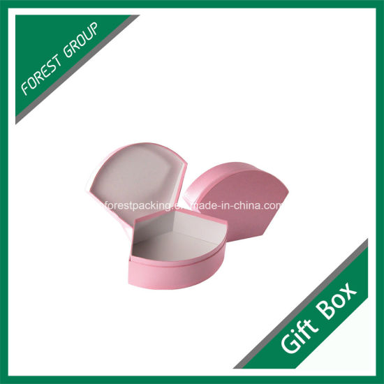 Chipboard Hard Paperboard Custom Color Printed Round Gift Box (FP002) pictures & photos