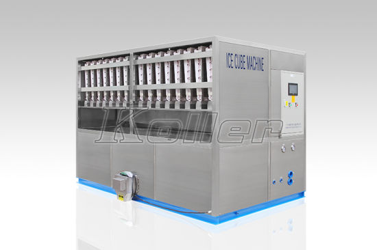 4 Tons/Day Commercial Food-Grade Ice Cube Machine with Packing System pictures & photos