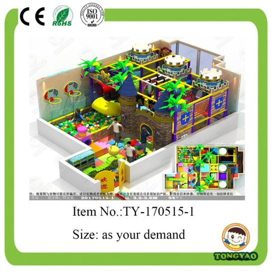 New Castle Theme Indoor Playground for Sale (TY-170515-1)
