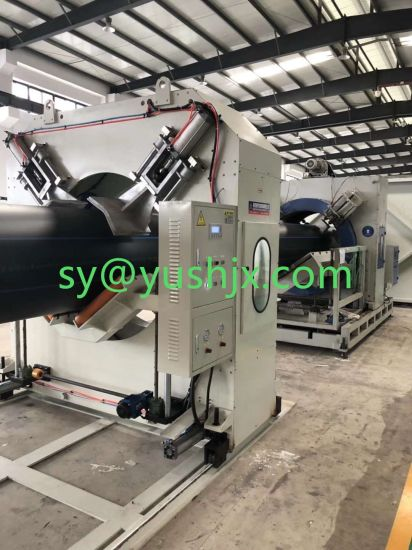 Plastic Cutting Machine for PVC PE Pipe with Competitive Price pictures & photos