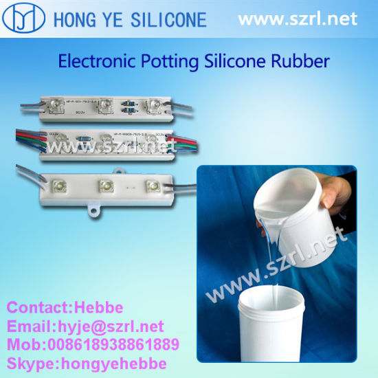 Free Samples Provided Liquid RTV2 Electrical Silicone Rubber