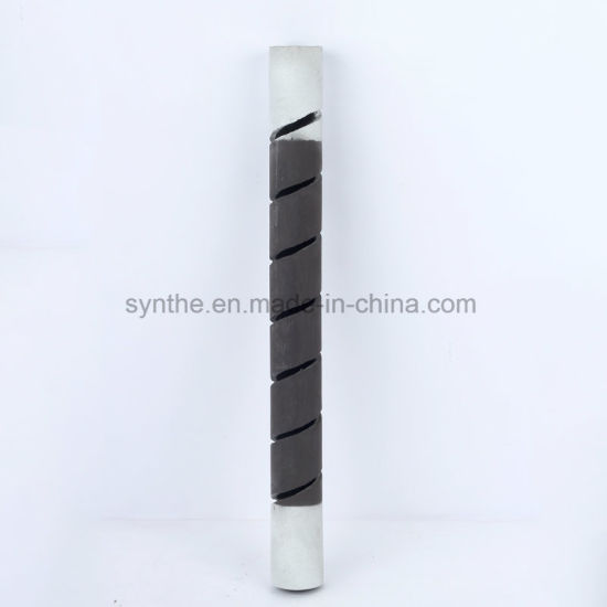 Single Spiral Sic Heating Element Rod for Kilns and Furnaces