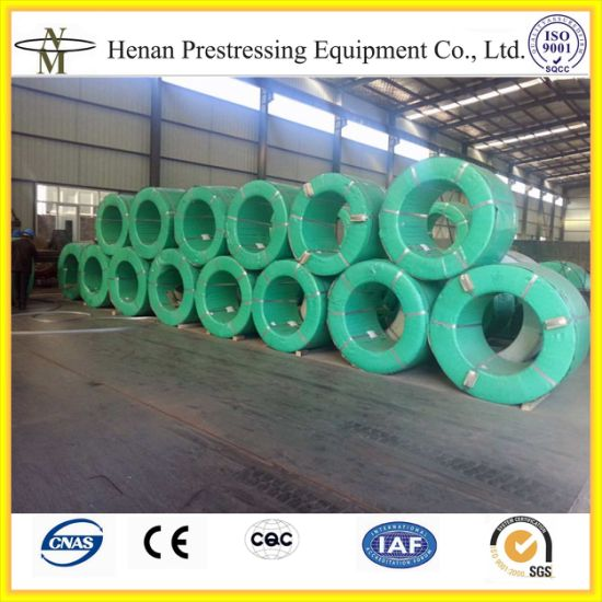 China 7 Wires 12 7mm Prestressed Concrete Pc Strand China Pc Strand Prestressed Cable