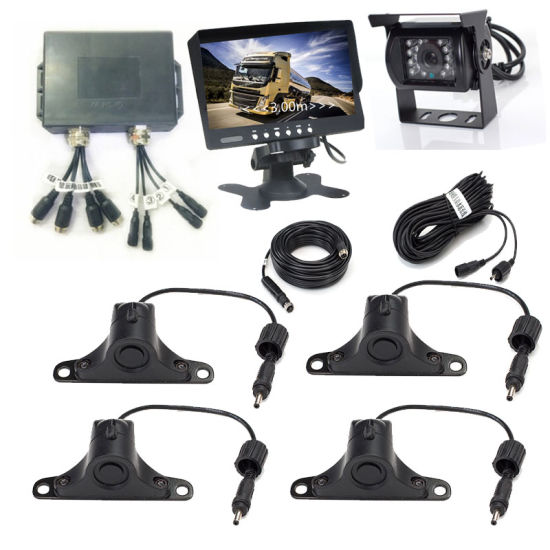 Bus Truck Reverse Camera and Video Parking Sensor