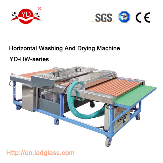 Cleaning Equipment Building Glass / Glass Washing and Drying Machine