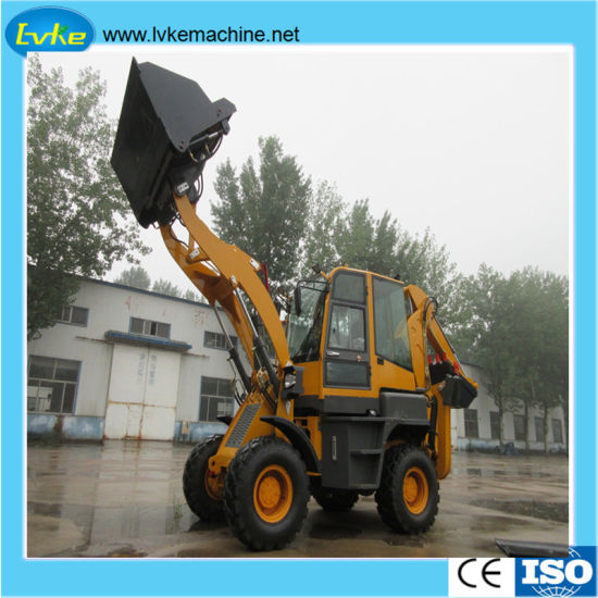 Durable Price Competitive Backhoe Loader Lk-Wz30-25 Weight 6.8 T 1.2cbm 60kw pictures & photos