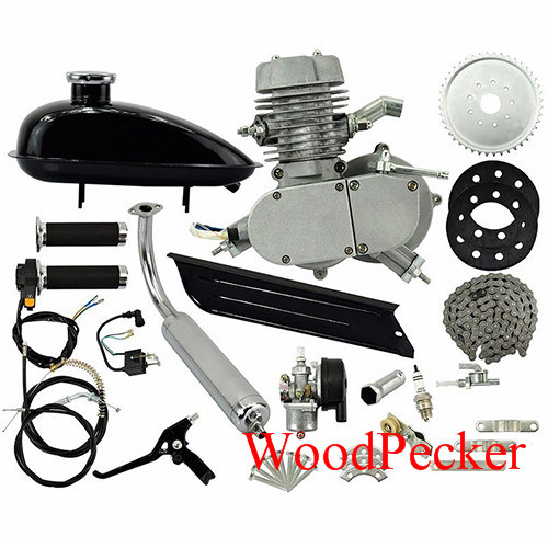 Sliver Color F80 Kit / 80cc Bicycle Motor Kit /80cc Bike Motor Kit