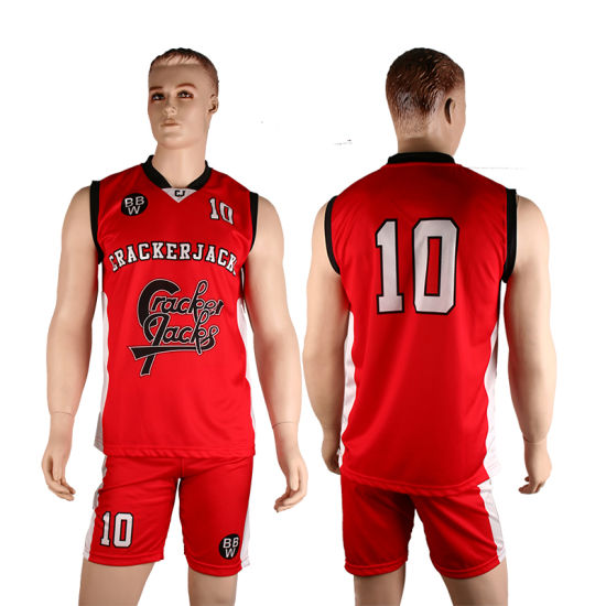 Healong Cheap Cotton Wholesale Custom Men Basketball Jersey Uniform
