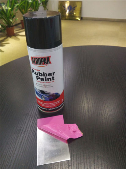Hot Sales Aerosol Rubber Paint for Cars pictures & photos
