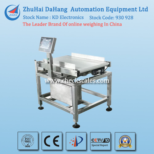 Wide Range Checkweigher Solution Used for Beverage Boxes pictures & photos