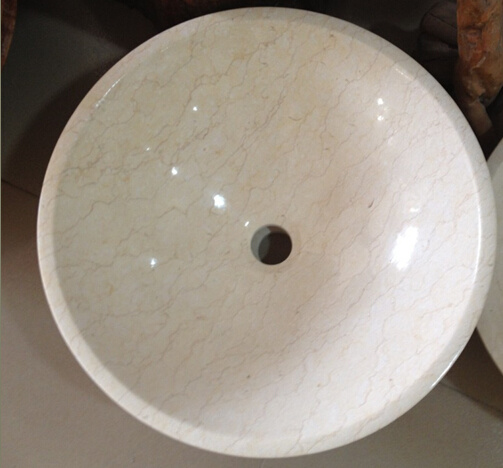 Quarry Owner Beige Marble Kitchenware Wash Sink pictures & photos