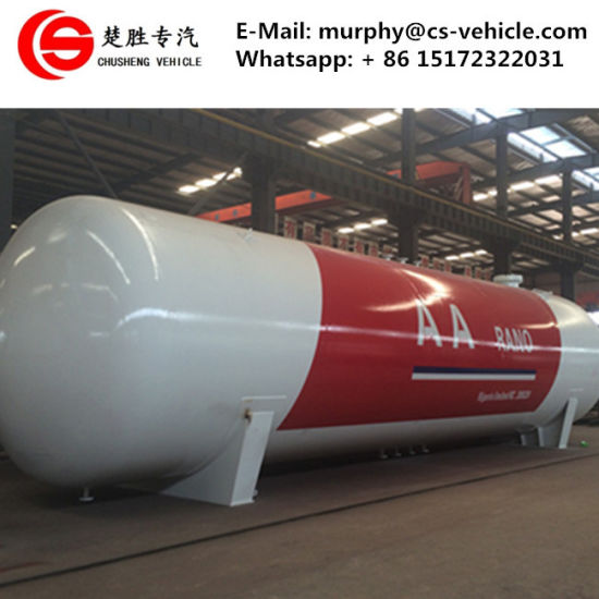 Nigeria LPG Tank 50000liters LPG Gas Tank 50m3 LPG Storage Tank Price pictures & photos