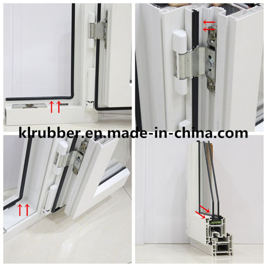 China EPDM Rubber Extrusion Seal for Aluminium Window Frame - China ...
