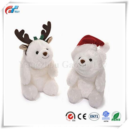 Halloween Snuffles Stuffed Toy Polar Bear