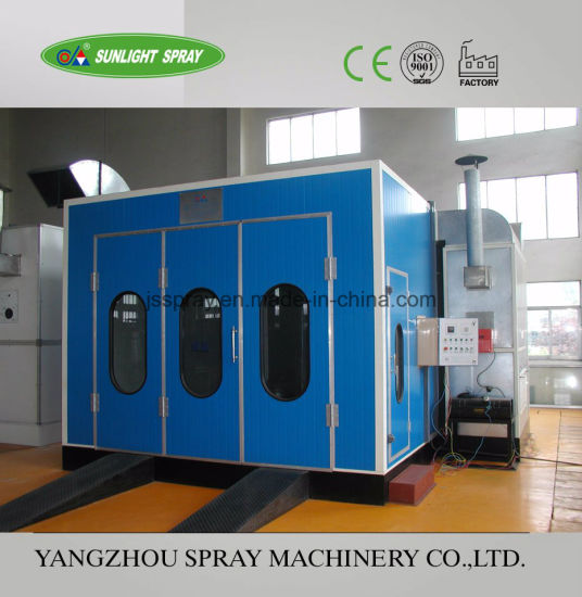 Dust Free Automotive Painting Equipment Spray Booth for Spraying and Curing pictures & photos